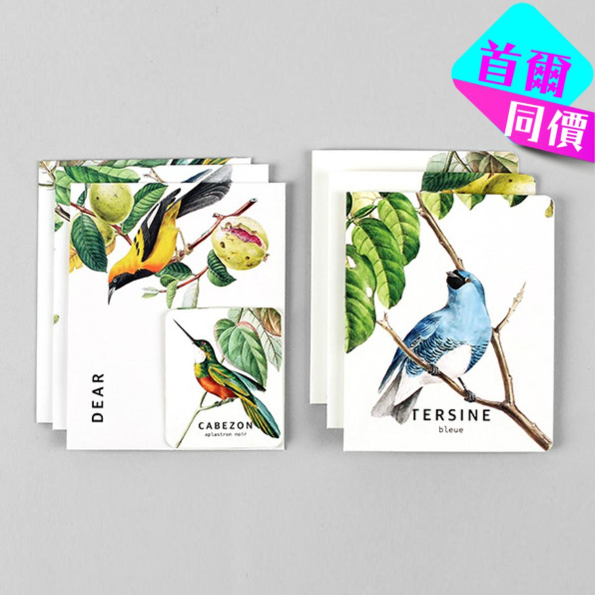 卡,信封,小卡套裝 09 Bird_nacoo_16960