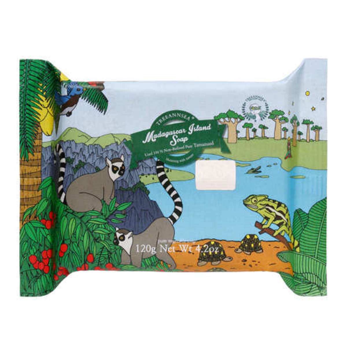馬達加斯加瓊崖海棠油毛孔潔淨香皂