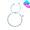幸運手繩 (銀珠版) (藍色)
