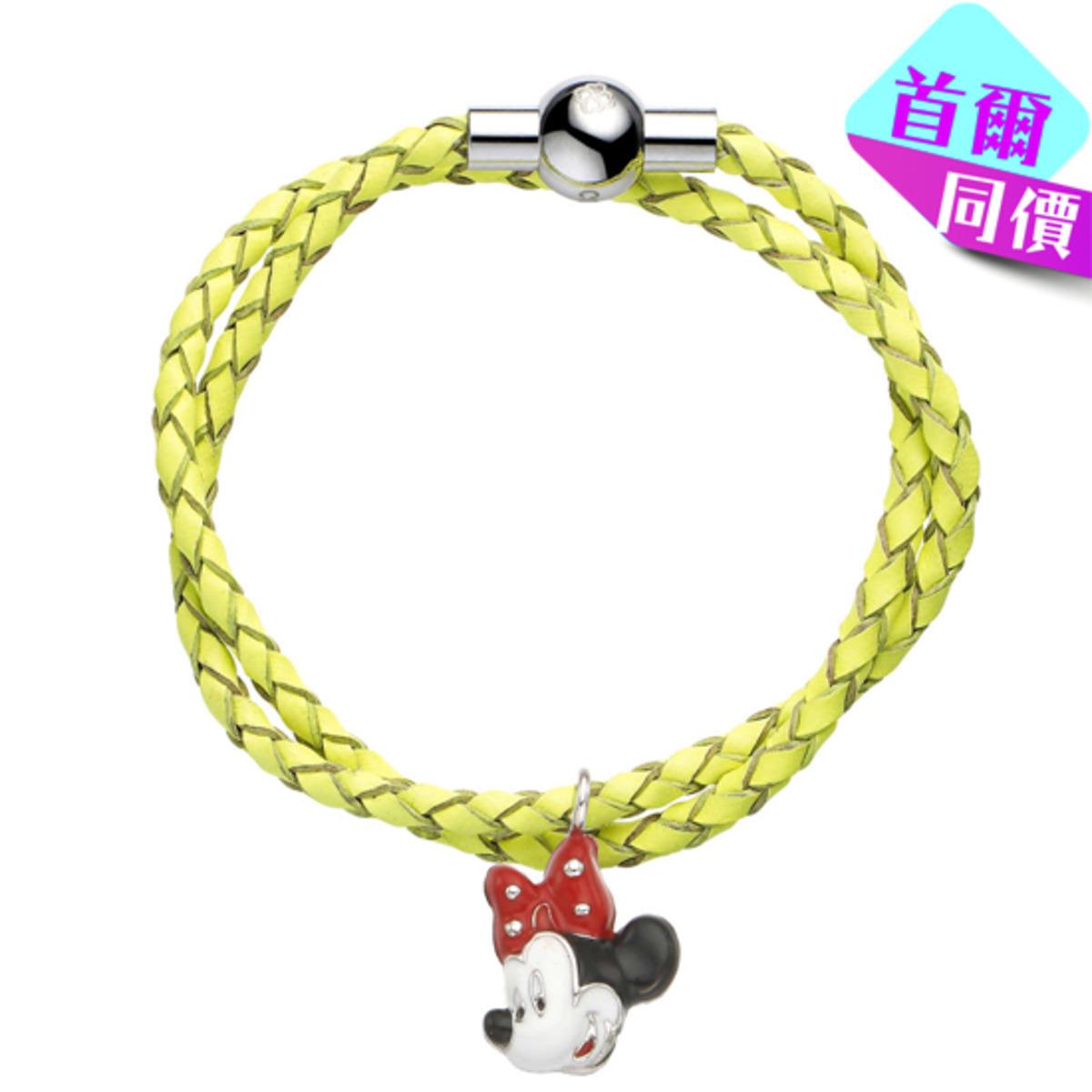 迪士尼米妮皮手繩