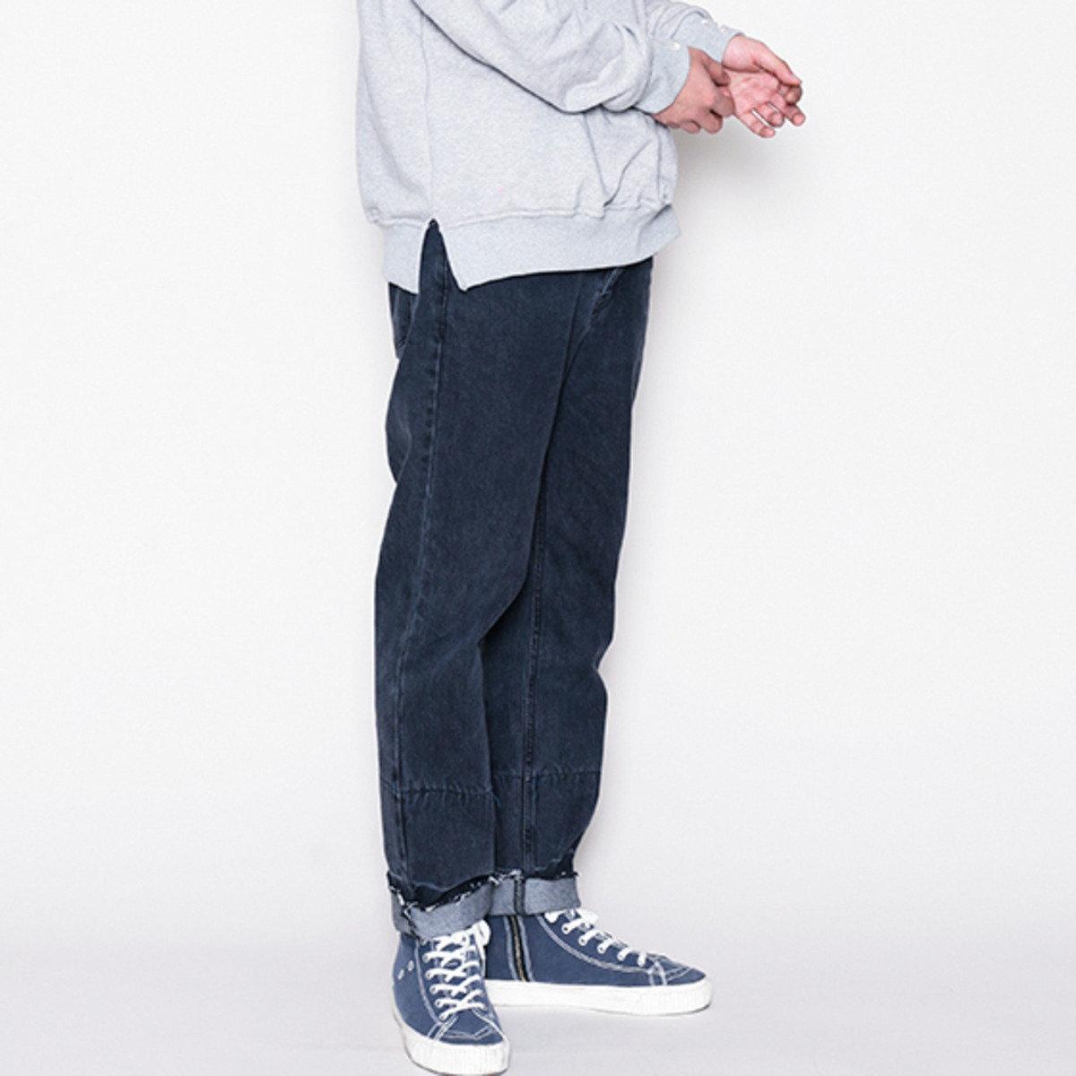 散邊五袋牛仔褲_13542
