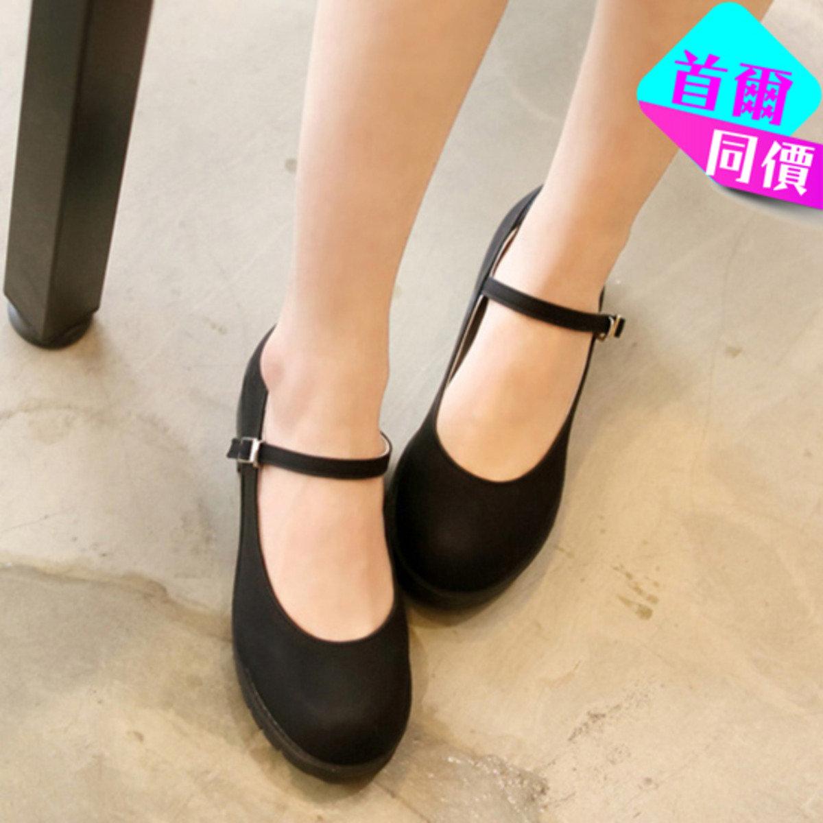 Mini Mary Jane扣款鞋 S012706