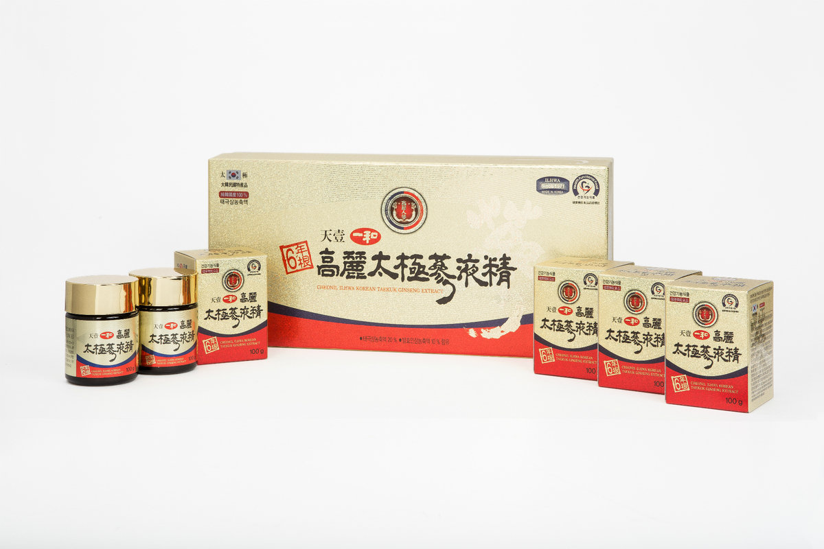 天壹一和韓國太極蔘液精 600g