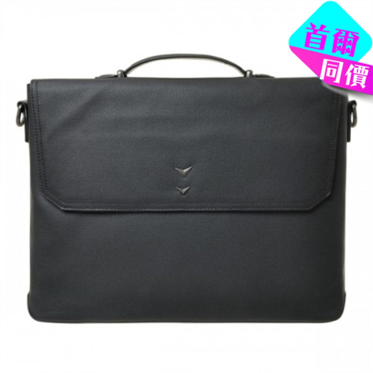 型格商務公事包 (可手提/斜孭) (黑)_P00000EQ