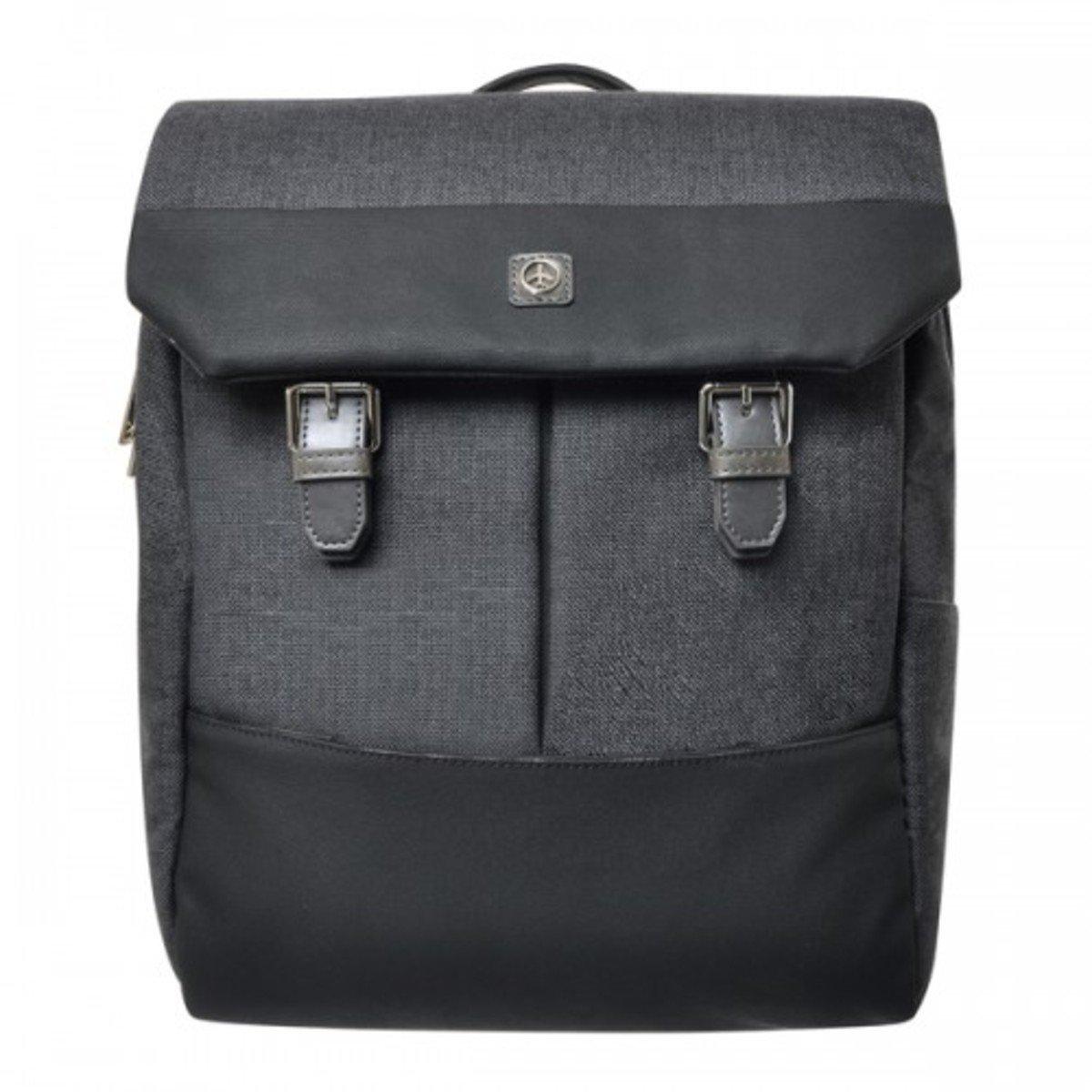 石紋雙扣背包_P00000DB_gr