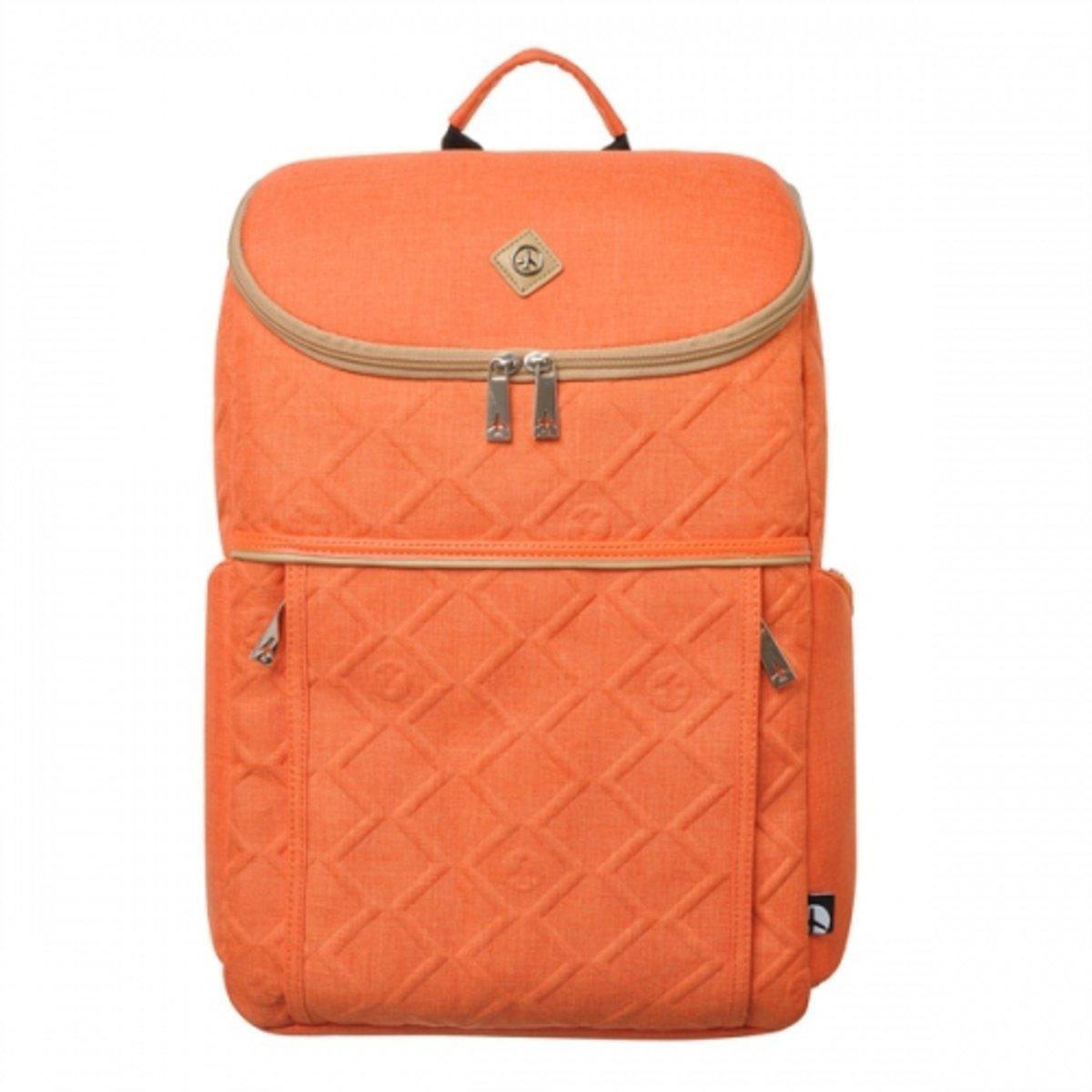 浮雕紋背包 (橙)_P00000HX