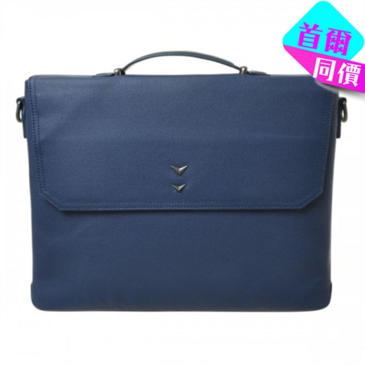 型格商務公事包 (可手提/斜孭) (深藍)_P00000EQ