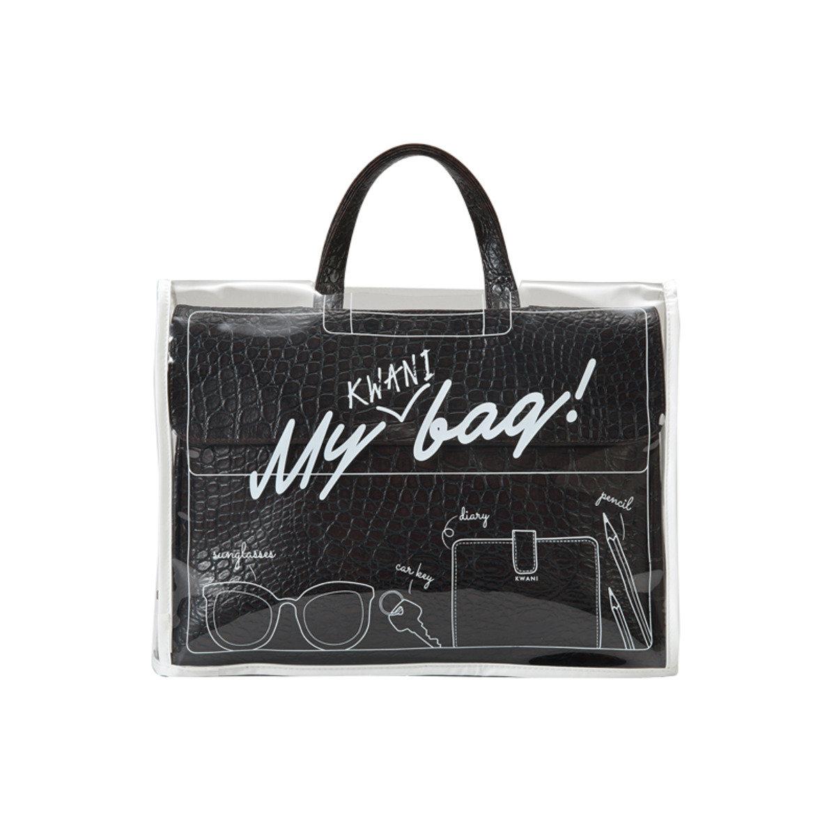 My KWANI Bag 手挽袋防水透明外套