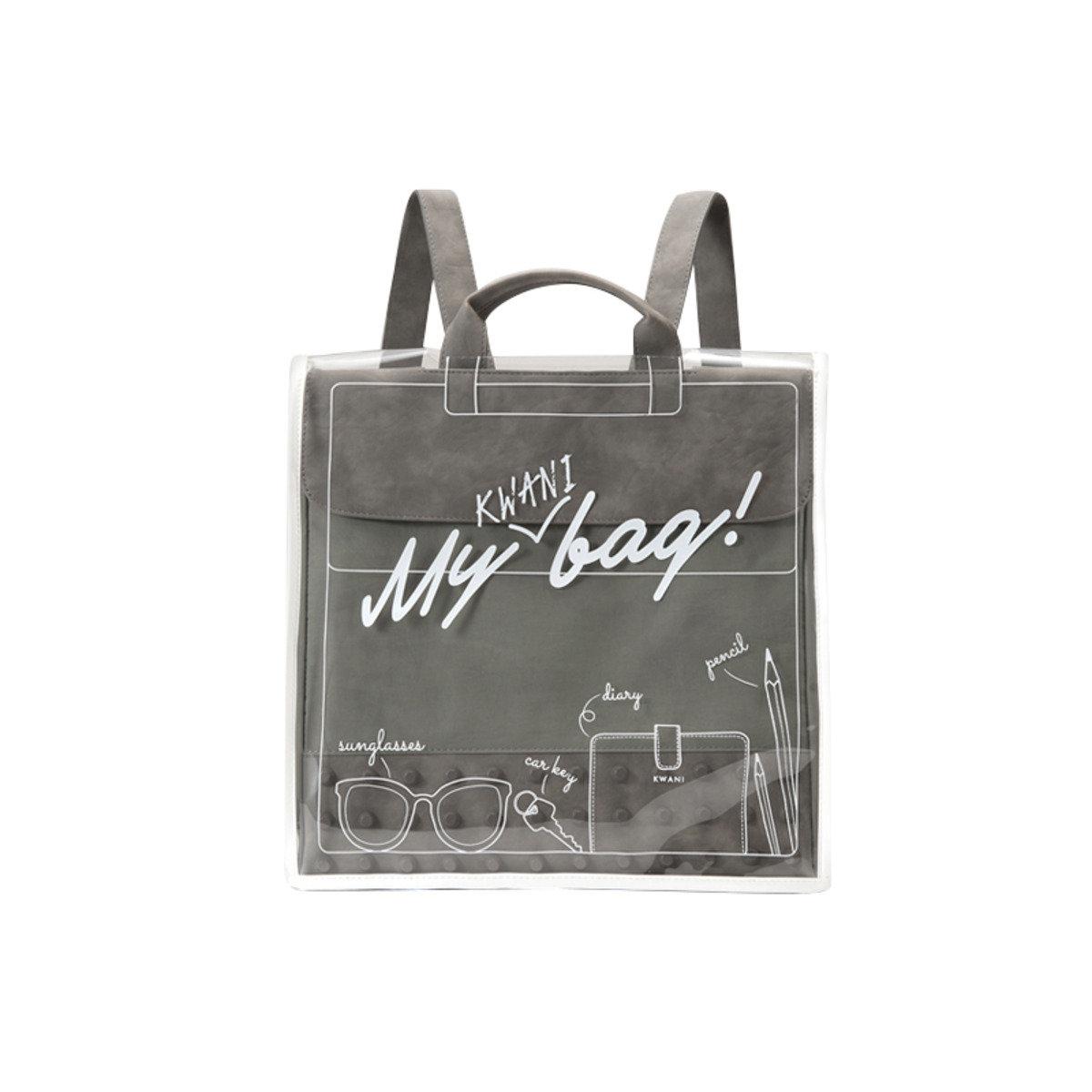 My KWANI Bag 背包防水透明外套
