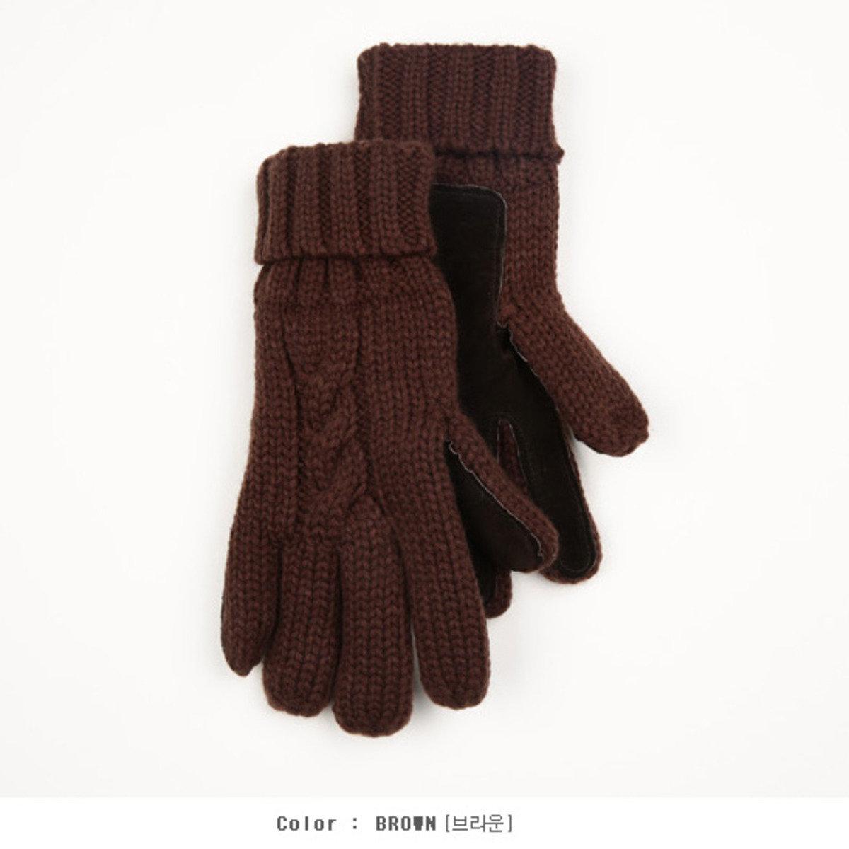 扭繩編織手套_AC2_151119959