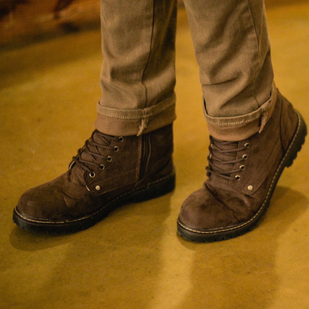 Lucid 拉鏈皮靴_SH6_151209191