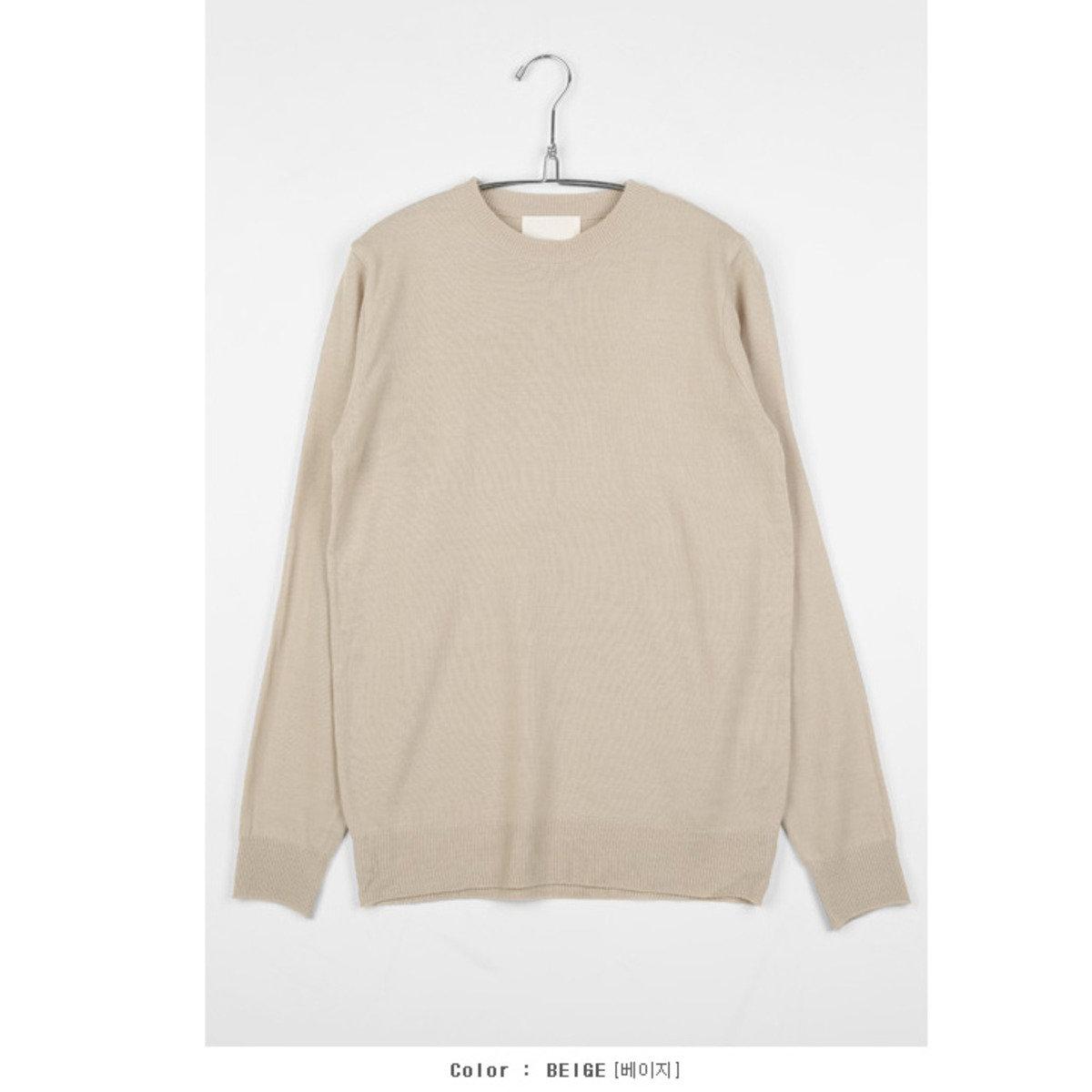 淨色針織衫_TN3_160229854
