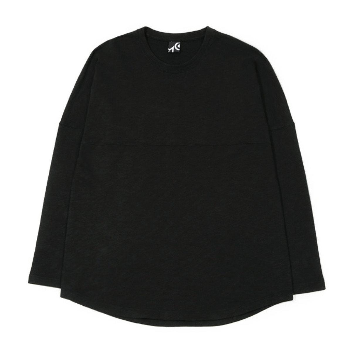 牛角袖長袖T恤_黑色TN1_150802816