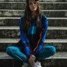 復古拉鏈外套_深藍色OU2_160107505