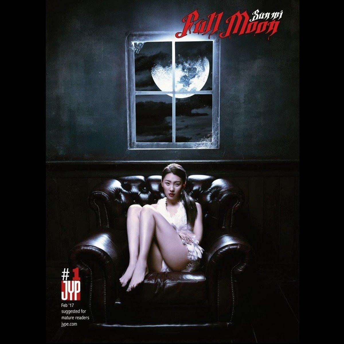 Sun Mi - Mini Album Vol.1 [Full Moon] [+Booklet(36p) + Postcard] _48331