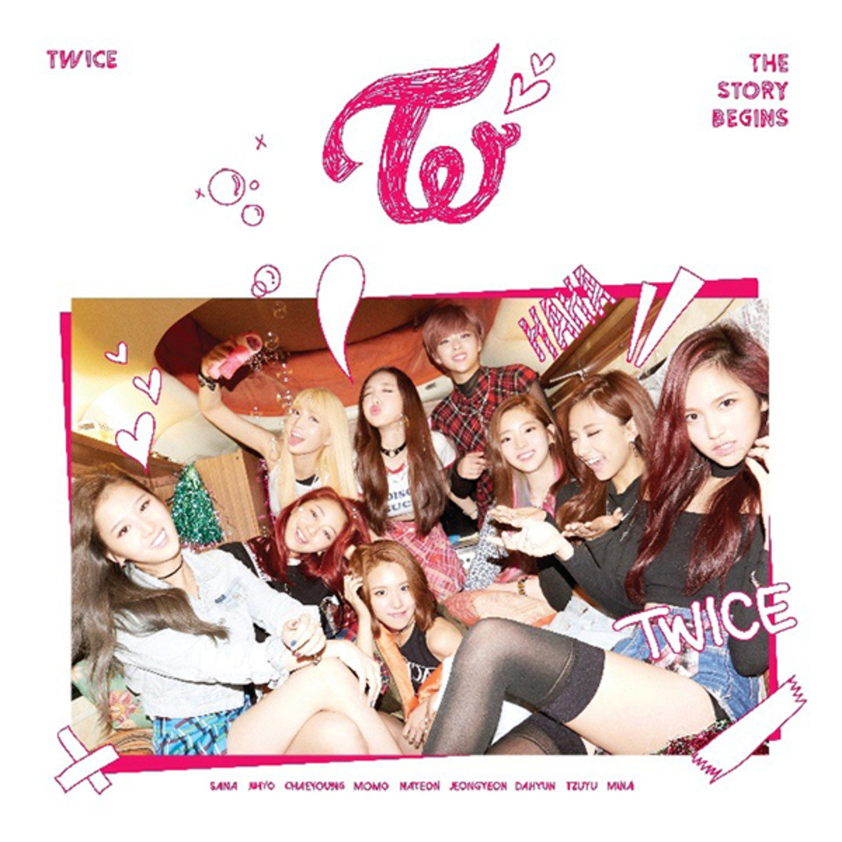 TWICE - Mini Album Vol. 1 [THE STORY BEGINS] _GD00021852