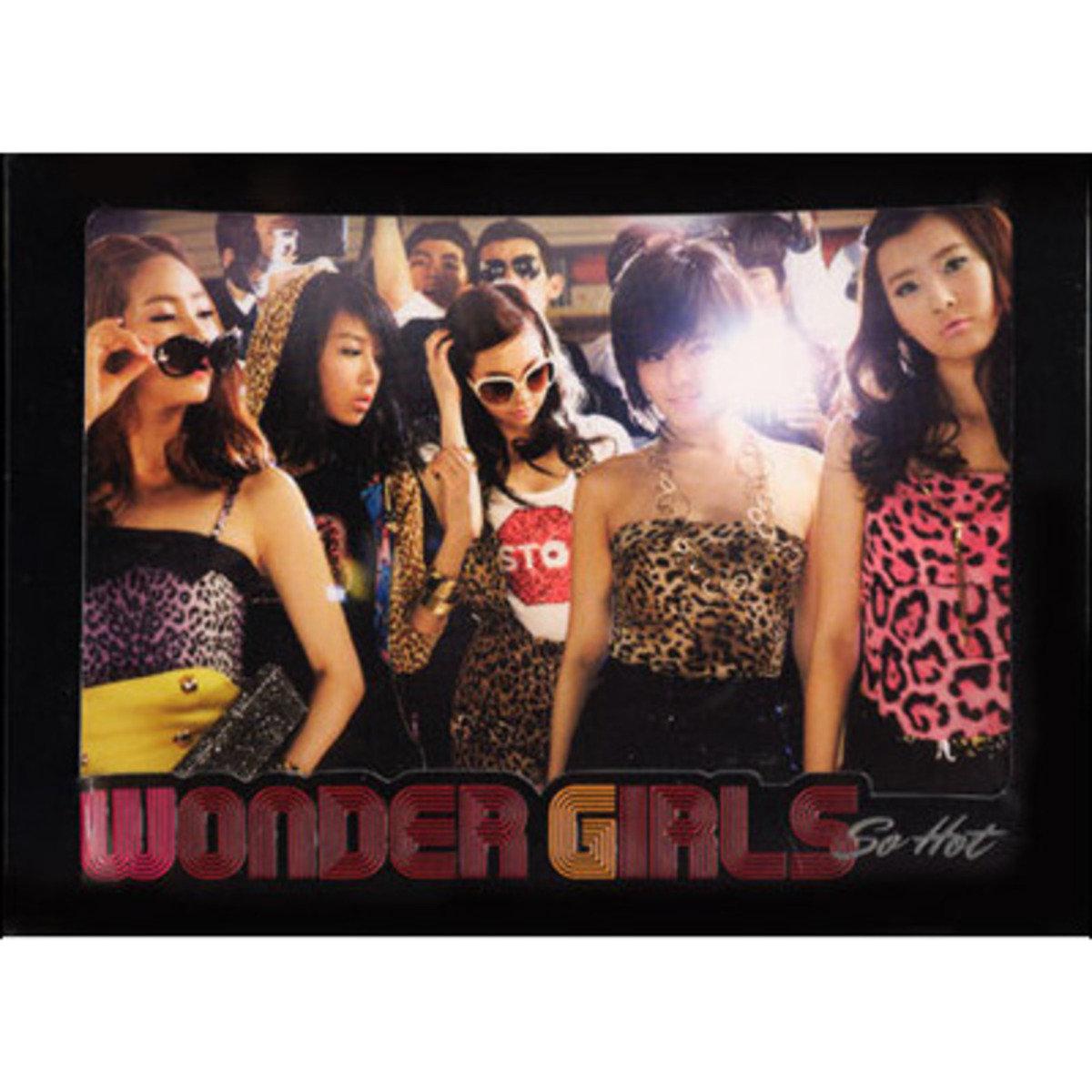 Wonder Girls - Single Album [So Hot] (The 3rd Project)_36335
