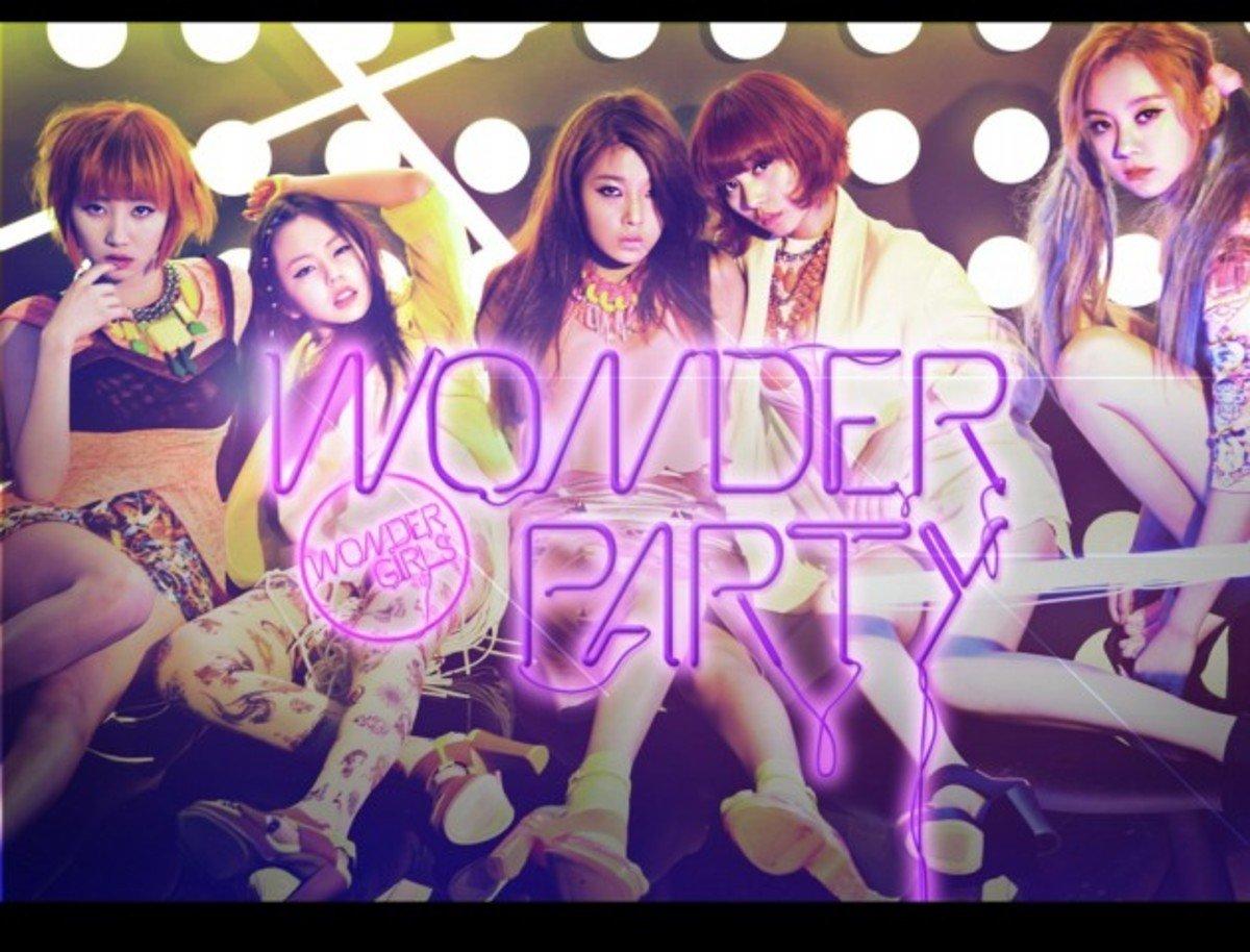 Wonder Girls - Mini Album [Wonder Party] (+Photocard 20p)_37143