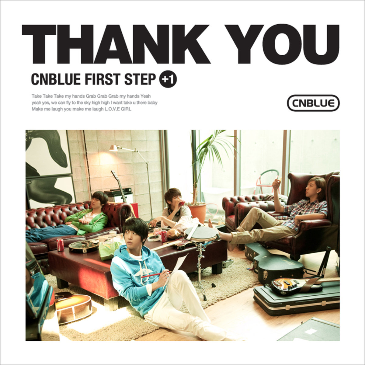 CNBLUE - Vol.1 [First Step+1] Thank You _32989