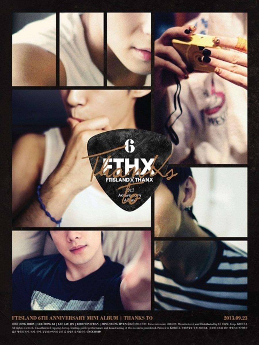 FTISLAND - 6th Anniversary Mini Album [THANKS TO] (CD+DVD+THANK YOU CARD 1p)_46458