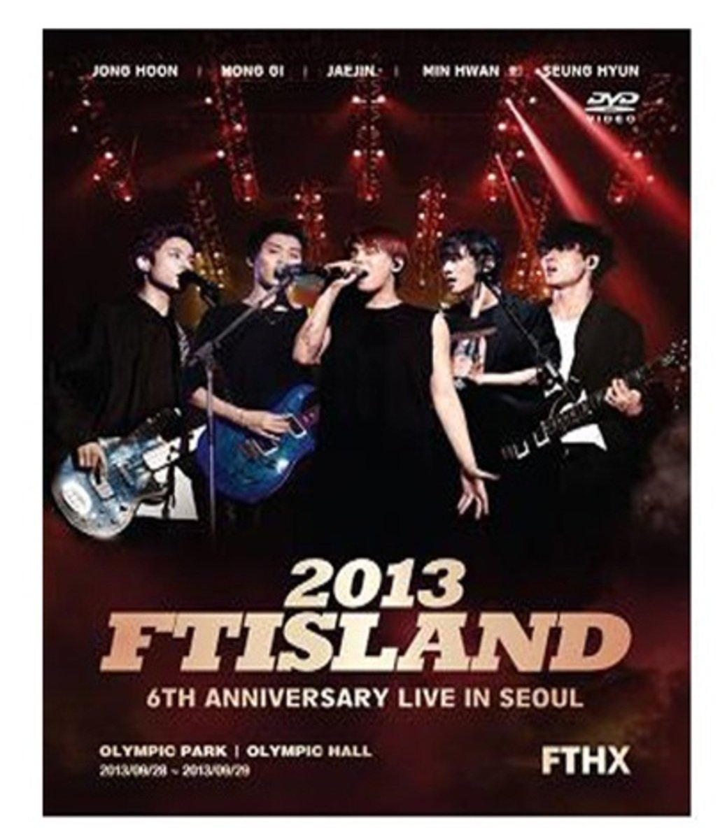 FTISLAND - 2013 FTISLAND 6th Anniversay Concert FTHX (+ Photobook)[DVD]  _47737