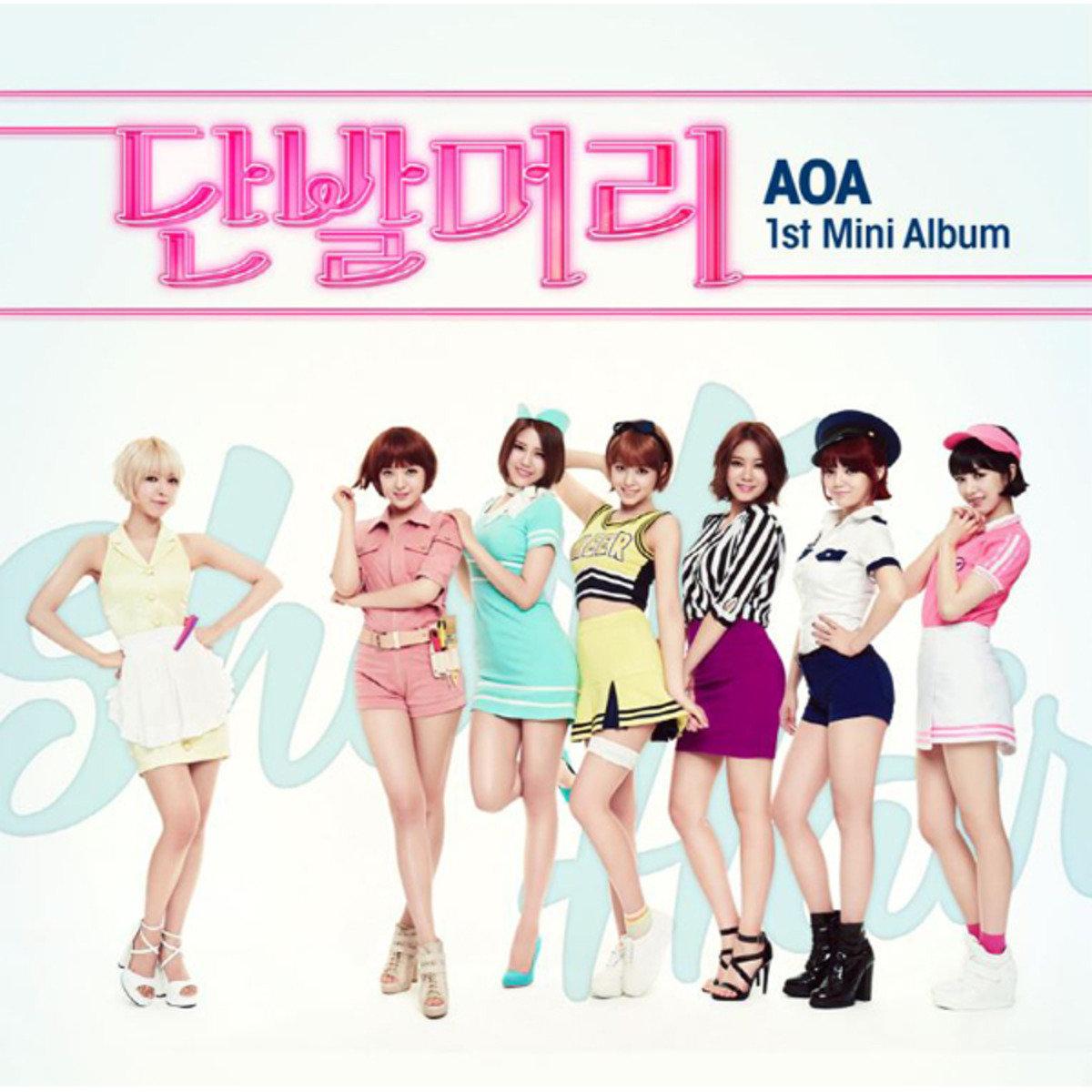 AOA - Mini Album Vol.1 [Short Hair] ( + Photocard 1p) _49586