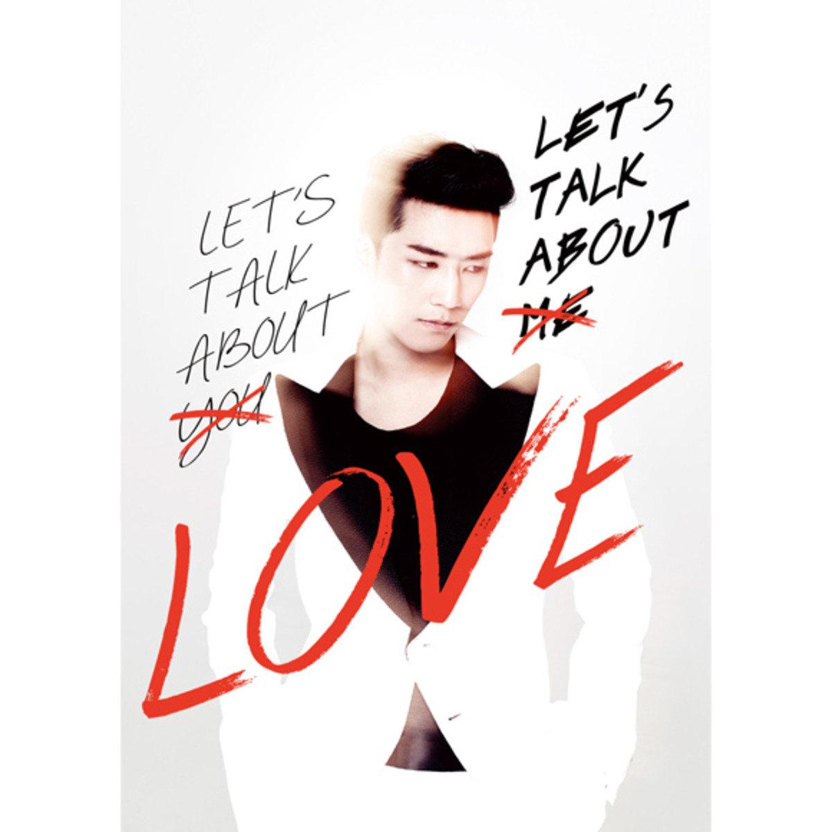 Seung Ri - Mini Album Vol.2 [LET'S TALK ABOUT LOVE] (RED&WHITE Ver) [+Booklet] _8809269502292