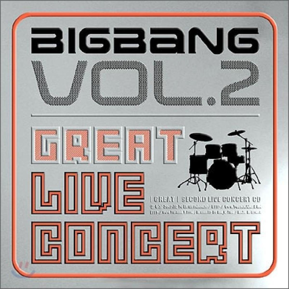 BIGBANG -  2008 2nd Live Album [The Great]_8809314510173