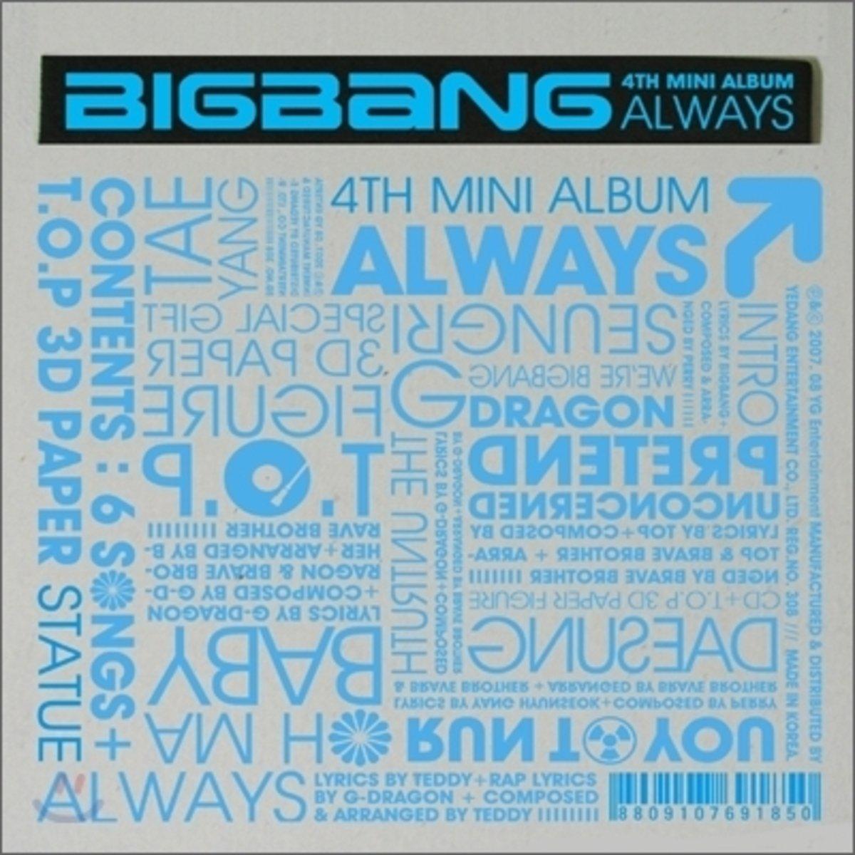 BIGBANG -  Mini Album Vol.1 [Always] _8809314510890