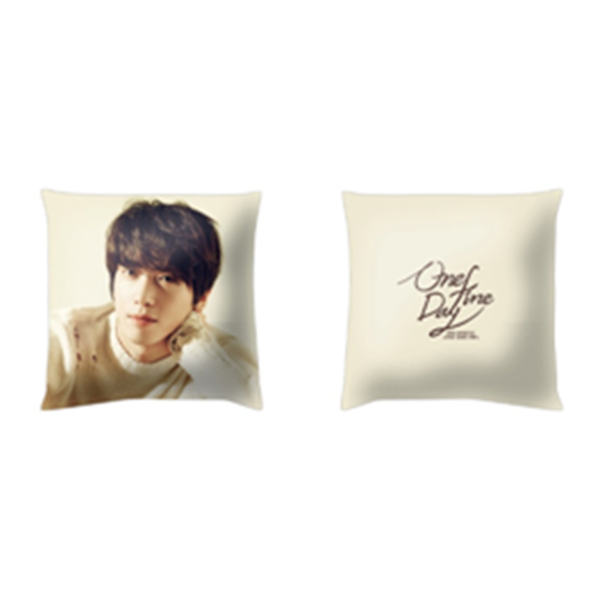 JUNG YONG HWA - ONE FINE DAY Cushion Cover [FNC Official MD Goods]_GD00018417_GD00018417