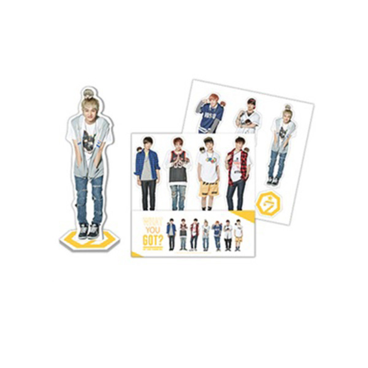 ​GOT7 - PURE SEASON 2 - 迷你人型人牌 SET (7pcs)(PART.1)_GD00013138