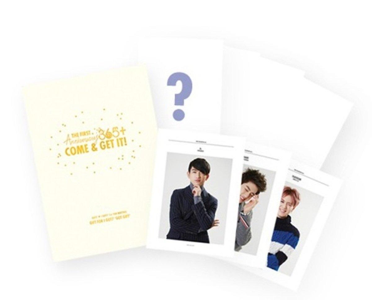 GOT7 - 1st FAN MEETING GOODS 365+ - GOT GIFT 迷你相冊_GD00016515