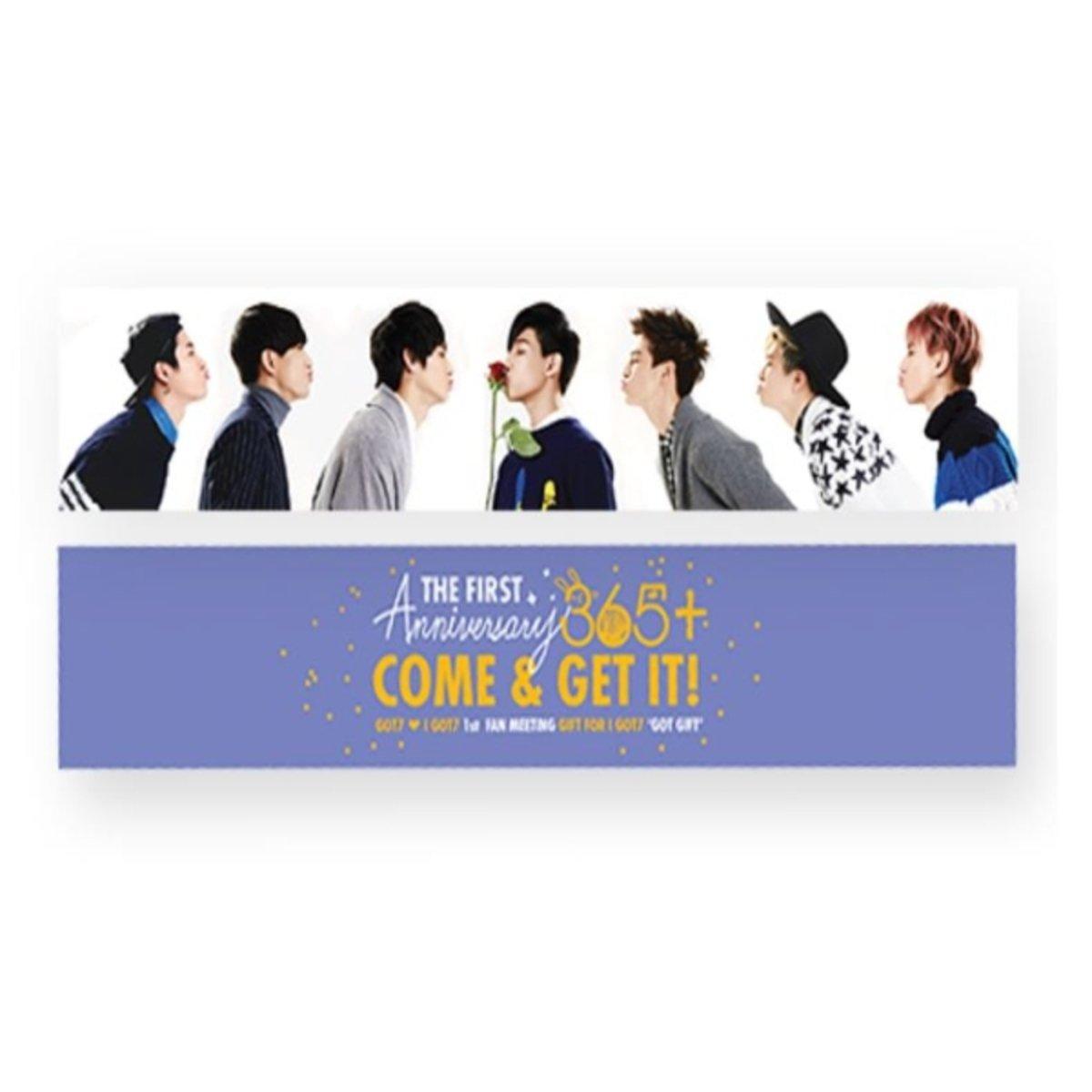 GOT7 - GOT GIFT 應援巾-1st FAN MEETING GOODS 365+_GD00016517
