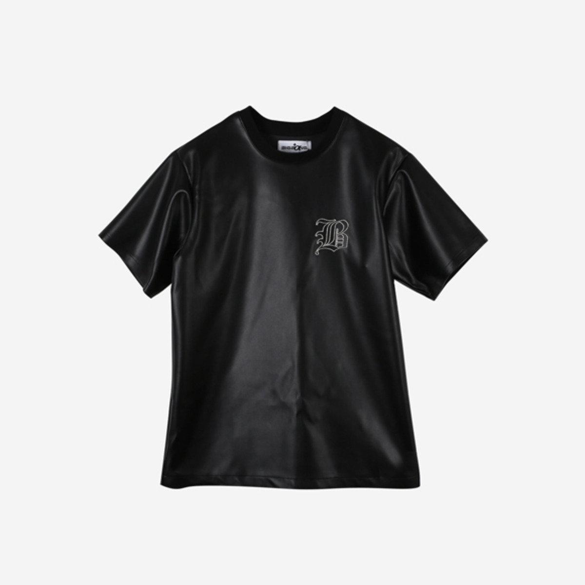 BIGBANG +a 皮革T-Shirt (M) (限量版) _48287