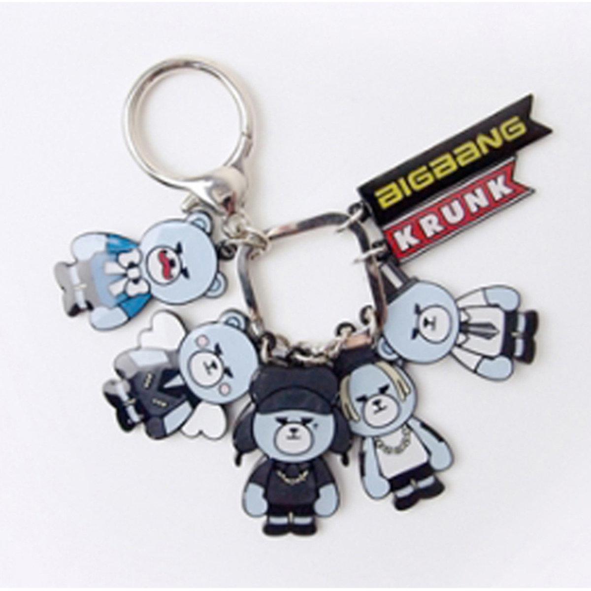 BIGBANG X KRUNK 鑰匙扣 (5 隻SET)_49510