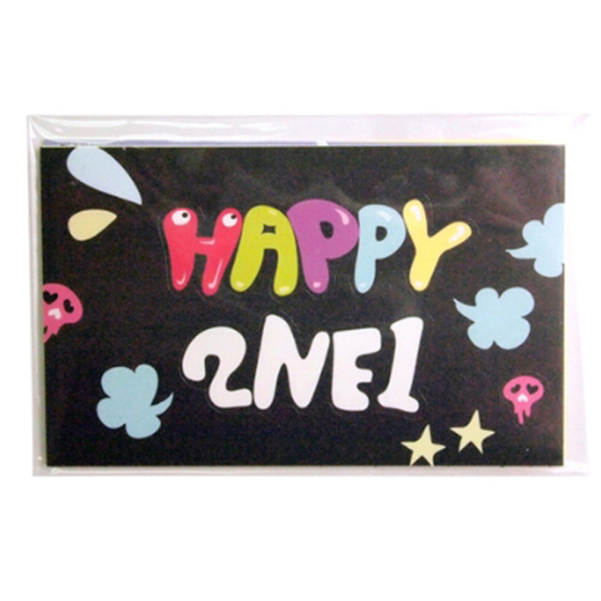 2NE1 CRUSH-HAPPY 貼紙SET _49512