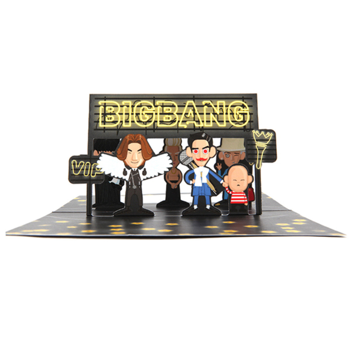 BIGBANG ART TOY POP UP CARD [BIGBANG 2015 ART TOY MD]_GD00018481