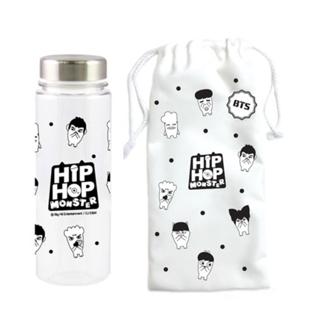 BTS- HIP HOP MONSTER 水樽SET