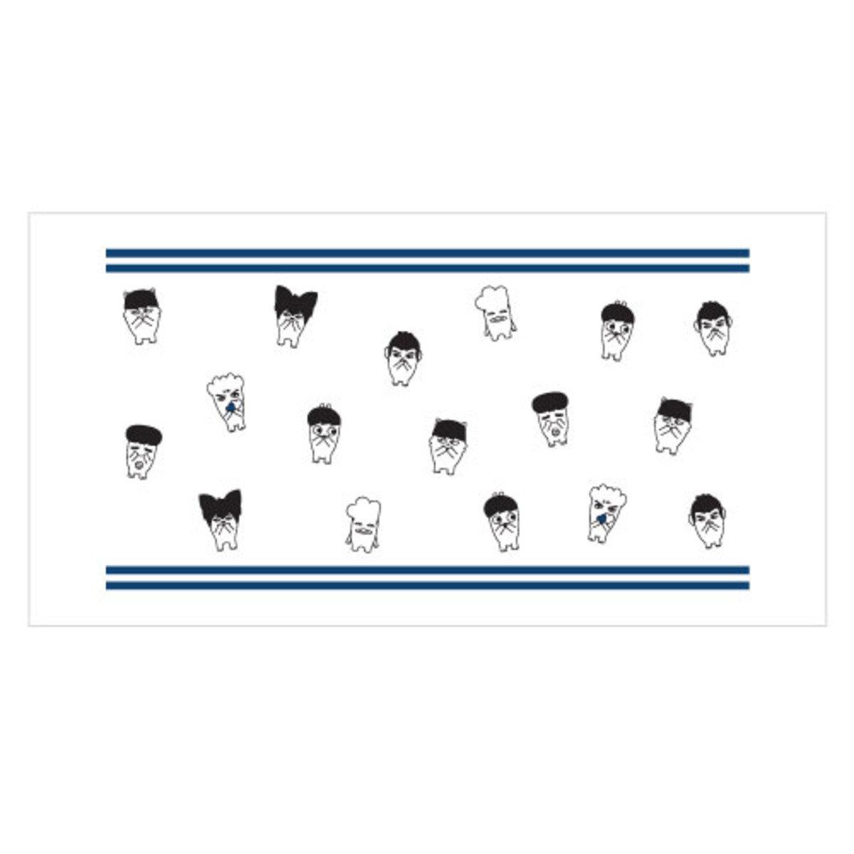 BTS- HIP HOP MONSTER 大毛巾 B
