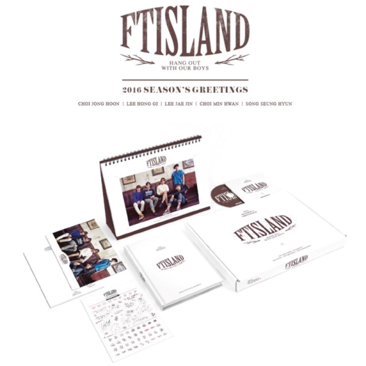 FTISLAND - 2016 年曆