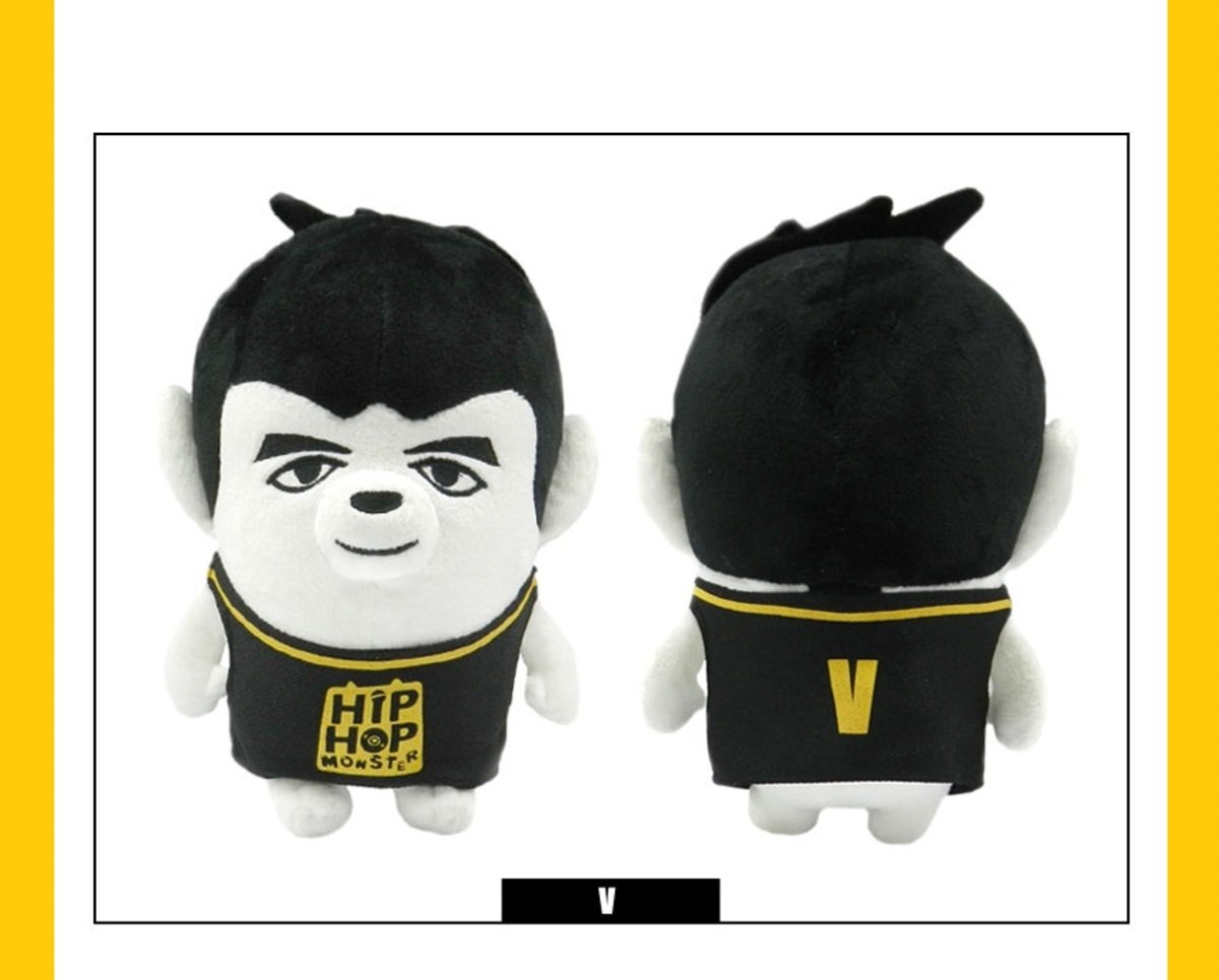 BTS - HIP HOP MONSTER 公仔 (V)
