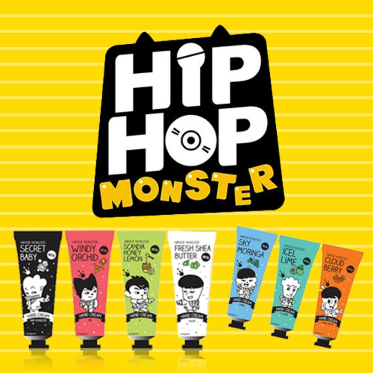 BTS - HIP HOP MONSTER 護手霜 7/SET