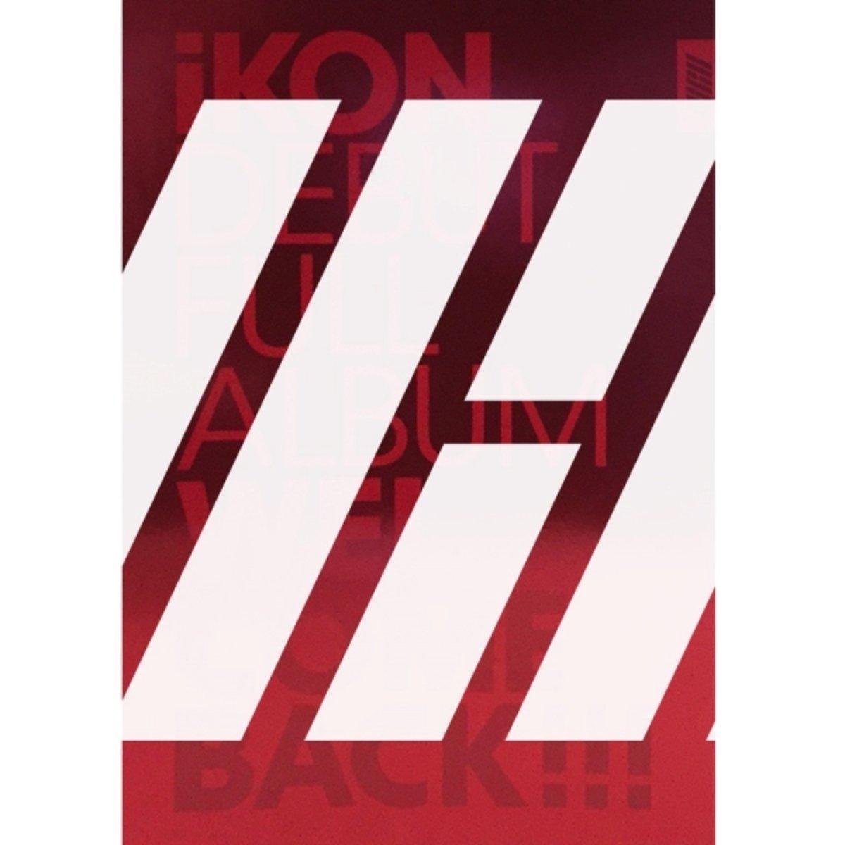 iKON - DEBUT FULL ALBUM [WELCOME BACK] (Red Ver.)