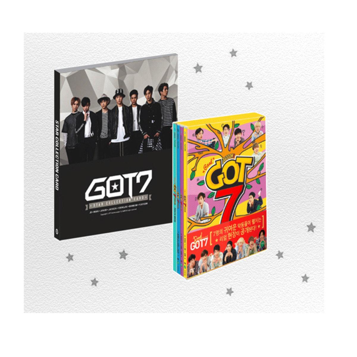 [DVD] GOT7 -  REAL GOT7 第三季 + Starcard