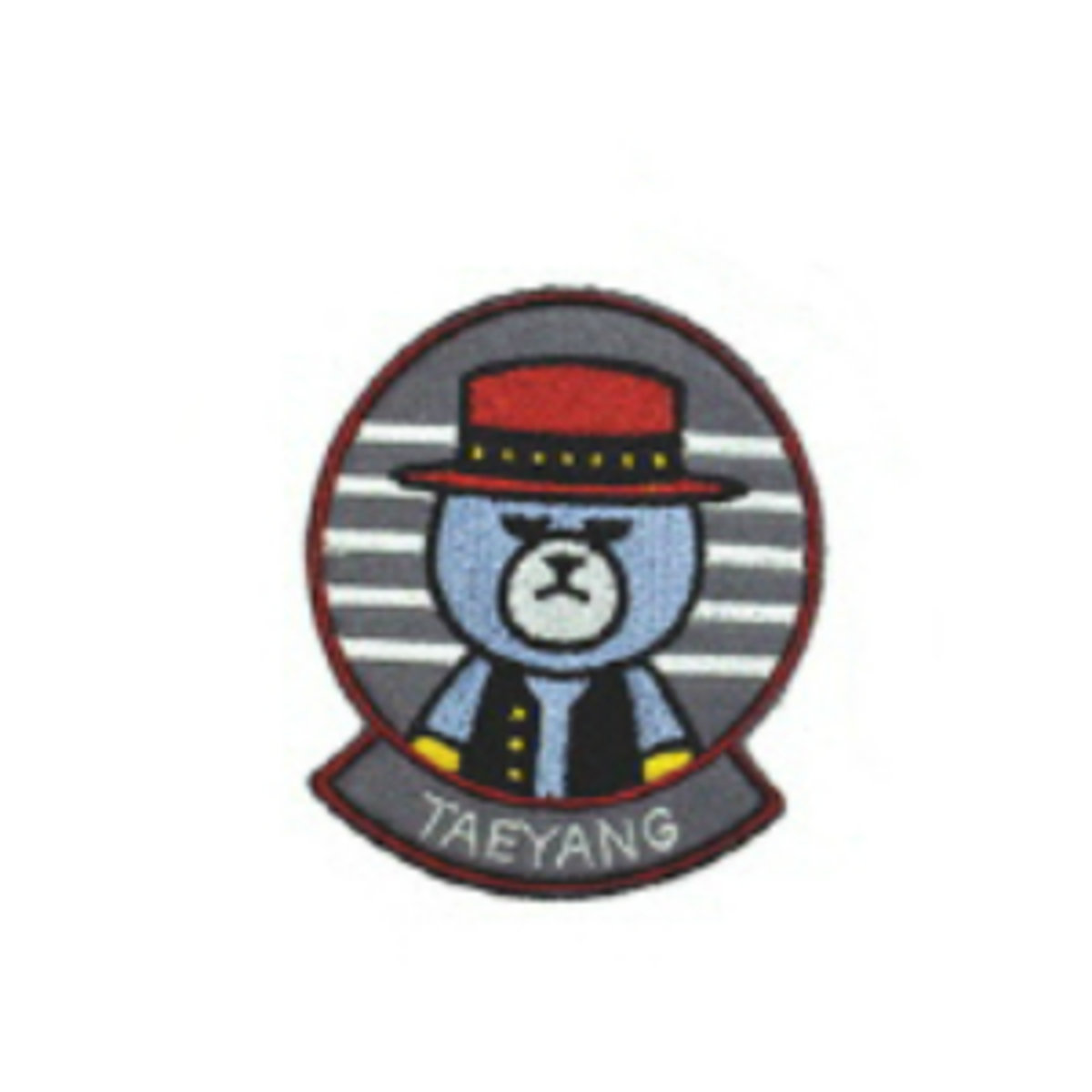 BIGBANG - KRUNK X BIGBANG 襟章 (TAEYANG) [BIGBANG WORLD TOUR 'MADE' FINAL IN SEOUL]