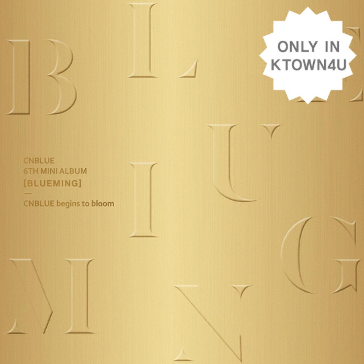 [預購]CNBLUE - (含海報)Mini Album Vol.6 [BLUEMING] A Ver.