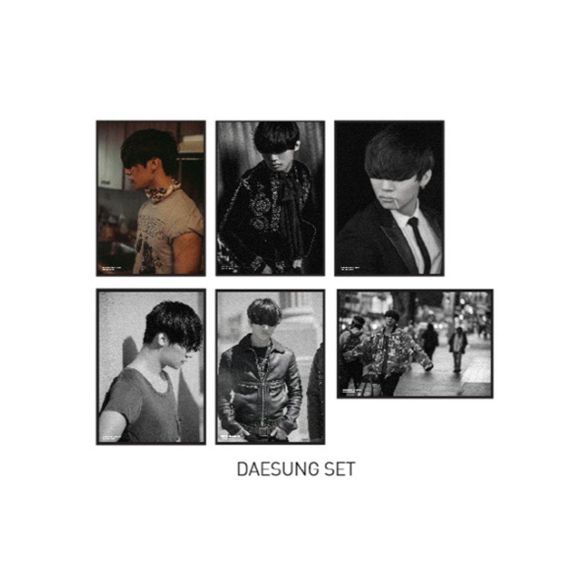 BIGBANG - 明信片套裝 (DAESUNG) [BIGBANG WORLD TOUR 'MADE' FINAL IN SEOUL]