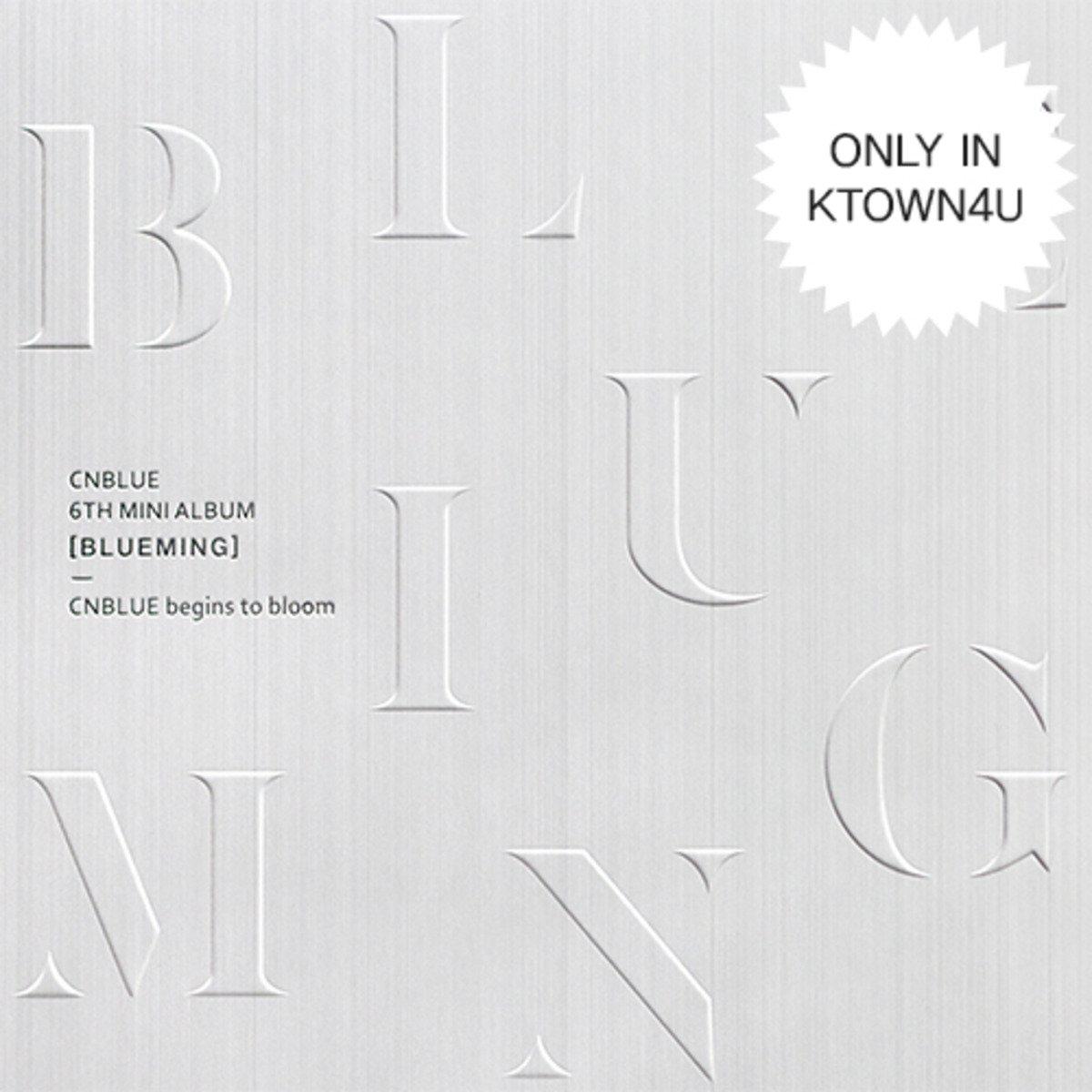 CNBLUE - Mini Album Vol.6 [BLUEMING] B Ver. + 官方海報連筒