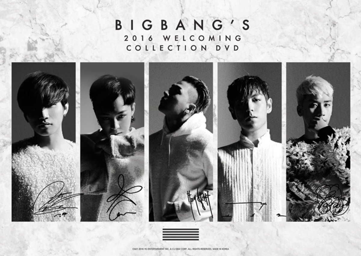 [DVD] BIGBANG - BIGBANG WELCOMING DVD_GD00023723
