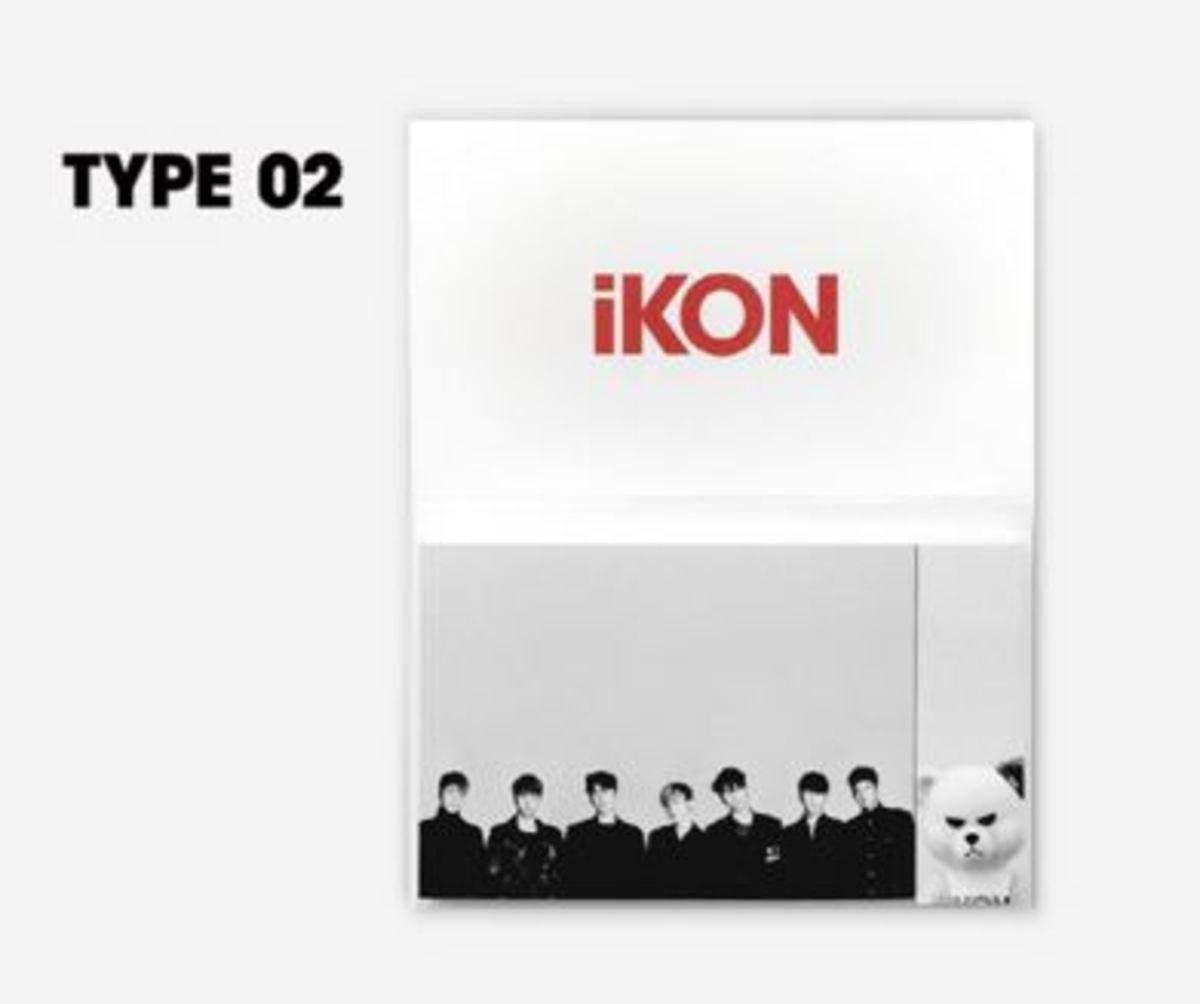 iKON - iKON X KRUNK 便利貼 款 2 [iKONCERT 2016 'SHOWTIME TOUR' MD]
